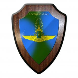Royal Thai Air Force RTAF Thailand Luftwaffe Streitkräfte Wappenschild #17936