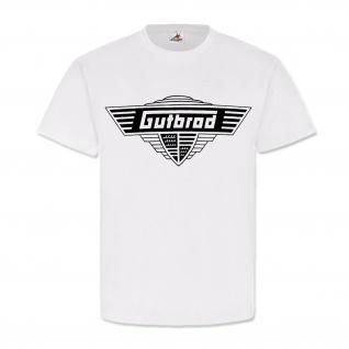 Gutbrod Oldtimer Logo Wappen Motorrad Automobil Plochingen Fan T Shirt #20252