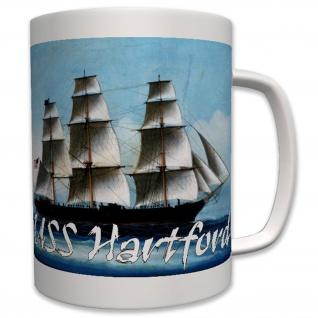 USS Hartford Segelschiff Amerika Bürgerkrieg Bild USA- Tasse Becher Kaffee #7405