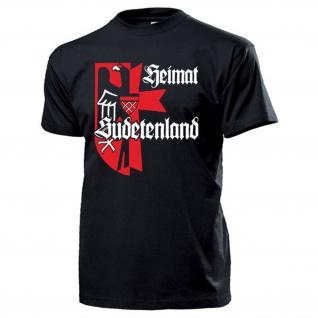 Heimat Sudetenland Sudetendeutsche Adler Wappen Sudeten - T Shirt #13296