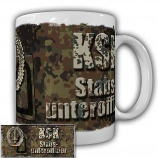 Tasse KSK Stabsunteroffizier der Kommando Spezialkräfte Militär Bundeswehr#20921