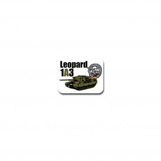 Leo 1A3 Panzer Aufkleber Sticker Bundeswehr Kampfpanzer 9x7cm#A4105