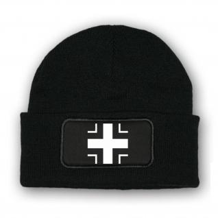 Mütze/Beenie - Balkenkreuz Mütze Emblem Abzeichen Verdienst #7016