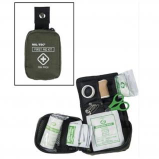 Tactical First Aid Pack Erste Hilfe Sanitäter Medic Verbandstasche oliv #16355