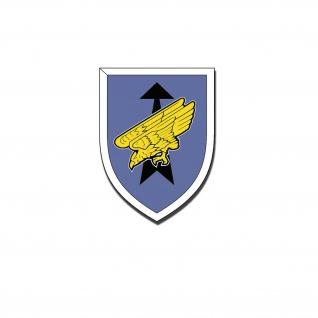 Aufkleber KSK Verbandsabzeichen Sticker Kommando Spezialkräfte 10x7, 5cm #A4769