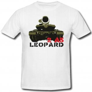 2 A5 Panzer Bundeswehr Leopard 2 Geschütz Militär WK - T Shirt #368