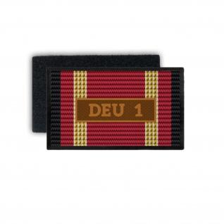 Einsatzbandschnallen DEU 1 Patch Einsatzabzeichen Bronze Aufnäher #33761