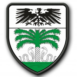 Patch / Aufnäher - Deutsche Kolonie Togo Schutzgebiet Afrika - #4902
