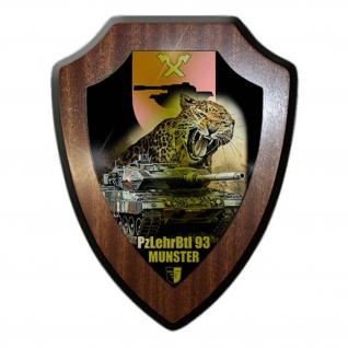 Wappenschild Lukas Wirp Panzerlehrbataillon 93 Munster Bundeswehr #24451