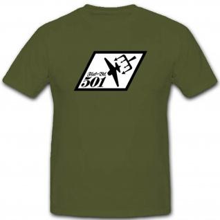 Wh Flakbtl501 Wk Militär Wappen Abzeichen Flugabwehrbataillon501- T Shirt #3279