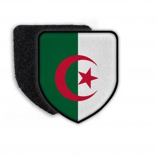 Patch Flagge von Algerien Land Staat Wappen Flagge Zeichen Nation Aufnäher#21390