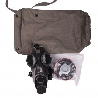 Schweizer Armee Maske Filter Atemmaske eingeschweißt#34046