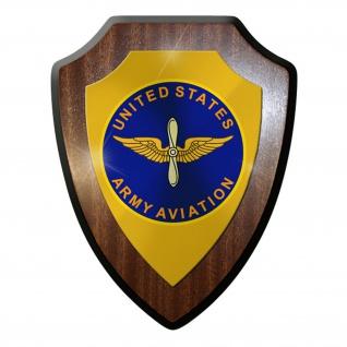 Wappenschild / Wandschild / Wappen - US United States Amerika Insignia #11710