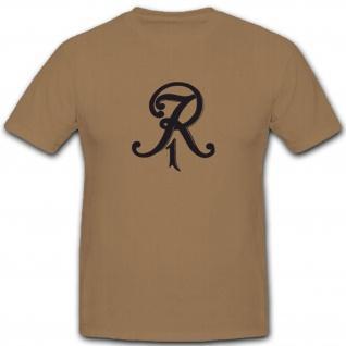 Ir1 Wappen Abzeichen 1.Preußisches Inf Reg Königsberg - T Shirt #3938