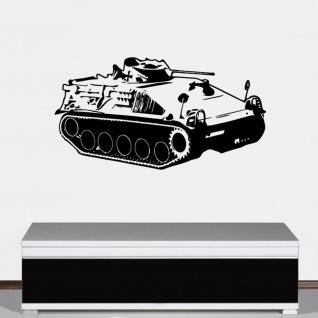 SPz Kurz Hotchkiss Panzer Schützenpanzer BW 60er Deko 85x45cm 85x45cm #A4715