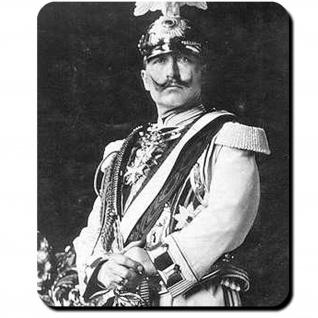 Wilhelm II Gardes du Corps Kaiser Uniform Corps Fotografie Mauspad #16407