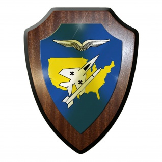 Wappenschild / Wandschild - Das Deutsche Luftwaffenkommando #11887