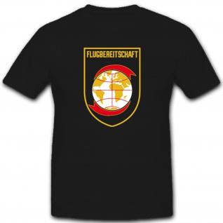 Flugbereitschaft Bundeswehr Wappen Logo Abzeichen Flugplatz T Shirt #1487