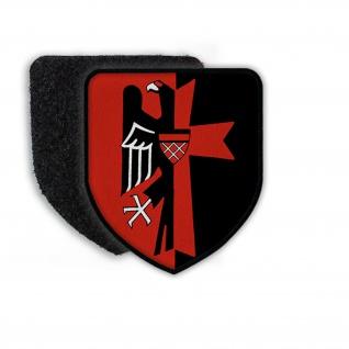 Patch Sudetenland Heimat Sudetendeutsche Sudeten Wappen Adler Abzeichen#21781