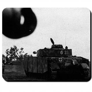Panzer 4 Panzerkampfwagen Kampfpanzer WK 2 Front Ostfront Foto - Mauspad #8291
