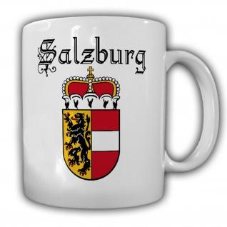 Salzburg Österreich Austria Wappen Abzeichen - Tasse Kaffee Becher #13318