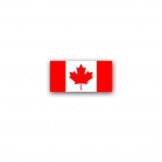 Aufkleber/Sticker Kanada Flagge Canada Nordamerikanischer Staat 7x3, 5cm A2984