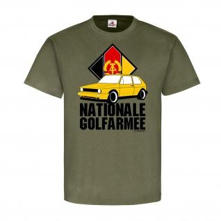 Nationale Golfarmee Golf 1 2 3 4 Auto KFZ Fan Club Volksarmee NVA DDR #21594