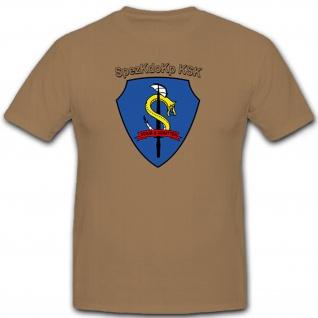 SpezKdoKp KSK Kommando Spezial Kräfte Staub und Schatten - T Shirt #6700