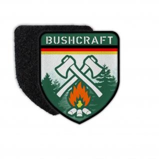 Patch Bushcraft Germany Deutschland Survival Outdoor Wald Prepper #32041