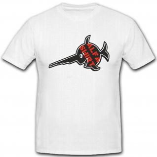 Alfashirt Logo Typ Felix Sägefisch Abzeichen Wappen- T Shirt #4391