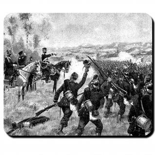 Preußische Truppen Prinz Friedrich Karl Nikolaus von Preußen Mauspad #16165
