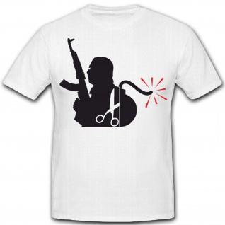 Anti Terror Humor Spaß - T Shirt #5767