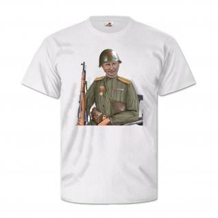 Putin Sovjet Soldier Military Russland Fun Humor Befehlshaber T Shirt #27235