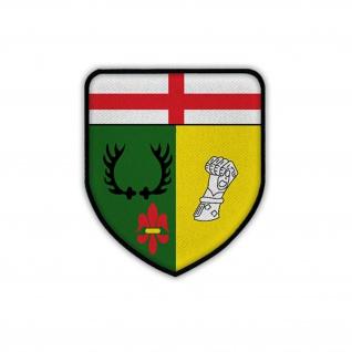 Patch PzBtl 543 Panzerbataillon Hermeskeil Wappen Emblem Aufnäher #17871