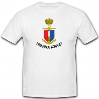 FROMANDSKORPSET - Dänische Kampfschwimmer Militär Einheit - T Shirt #12468