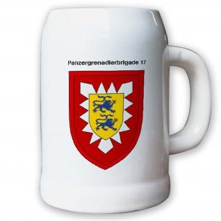 Krug / Bierkrug 0, 5l -27.Bierkrug Panzergrenadierbrigade 17 PzGrenBrig #12991