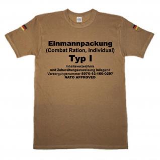 BW Tropen EPA Einmannpackung Bundeswehr Tropenshirt Fun BW T-Shirt #14304