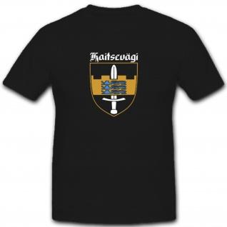 Estnisches Heer Streitkräfte Kaitsevägi Estland Wappen Abzeichen - T Shirt #5525