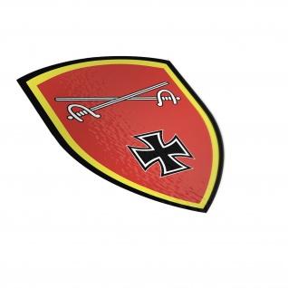 Heeresamts Bundeswehr Kommandobehörde Köln Dienststelle Aufkleber 20x15cm #A4876