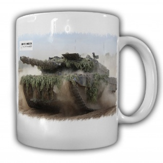 Tasse M&N Pictures Leopard 2 Panzer BW Deutschland Tarnung Sand Einsatz #25629