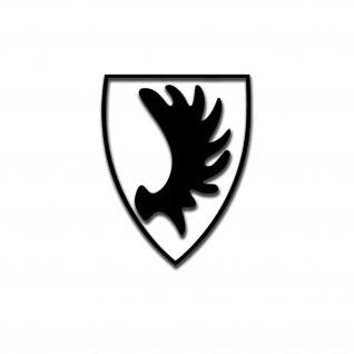 Ostpreußen Wappen Elch Elchschaufel Auto Aufkleber Sticker Heimat 6x4cm#A5585