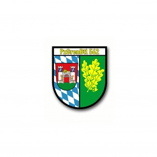 Aufkleber PzGrenBtl 562 Panzergrenadierbataillon Abzeichen Wappen 7x6cm #A4664