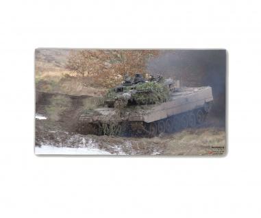Poster M&N Leo2 Eisenschwein Leopard Panzer-Truppe Besatzung ab30x17cm#30293