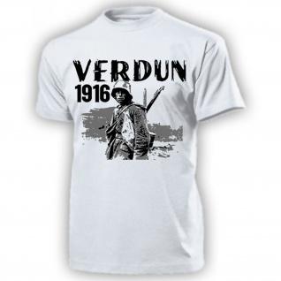 Verdun 1916 Schlacht Frankreich Deutschland Westfront Festung T Shirt #17584