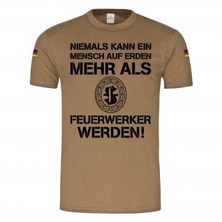 BW Tropen Feuerwerker Bundeswehr Munitionfachpersonal Abzeichen #23395