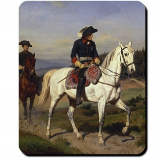 Friedrich der Große Alter Fritz König Preußen Deutschland Mauspad #16412