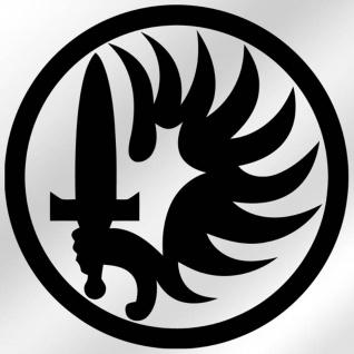 Aufkleber / Sticker - Parachutistes Fremdenlegion Fallschirmjäger 10x10cm #A010