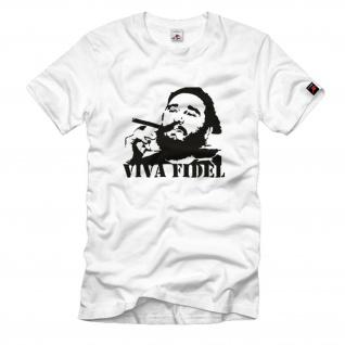 Viva Fidel Kuba Kult 60er Jahre T Shirt #1107