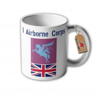 Tasse I Airborne Corps United Kingdom British Army Red Devils 1st Brig #32362