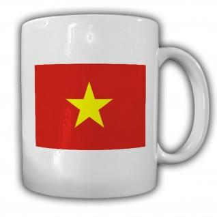 Tasse Vietnam Flagge Fahne Kaffee Becher #14026